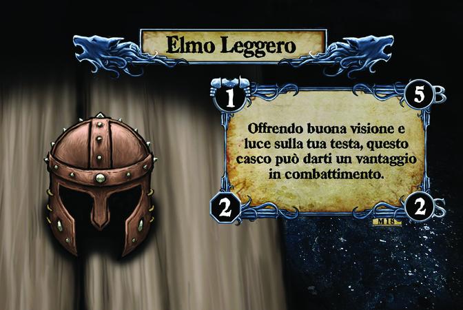 Elmo Leggero Offrendo buona visione e luce sulla tua testa, questo casco può darti un vantaggio in combattimento.