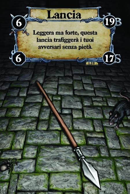 Lancia Leggera ma forte, questa lancia trafiggerà i tuoi avversari senza pietà.