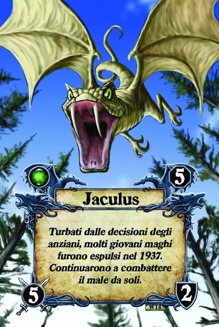 Jaculus  Turbati dalle decisioni degli anziani, molti giovani maghi furono espulsi nel 1937. Continuarono a combattere il male da soli.