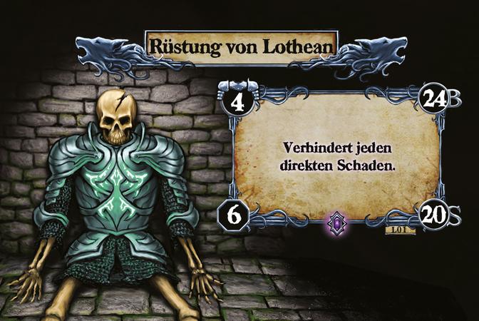 Rüstung von Lothean Verhindert jeden direkten Schaden.