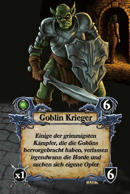 Goblin Krieger Einige der grimmigsten Kämpfer, die die Goblins hervorgebracht haben, verlassen irgendwann die Horde und suchen sich eigene Opfer