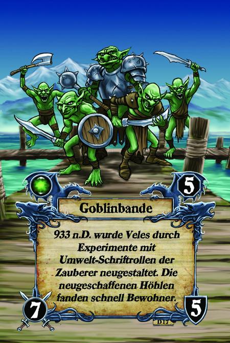 Goblinbande 933 n.D. wurde Veles durch Experimente mit Umwelt-Schriftrollen der Zauberer neugestaltet. Die neugeschaffenen Höhlen fanden schnell Bewohner.