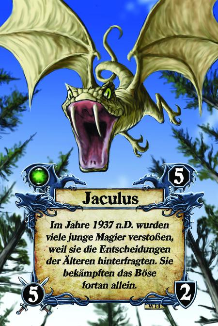 Jaculus Im Jahre 1937 n.D. wurden viele junge Magier verstoßen, weil sie die Entscheidungen der Älteren hinterfragten. Sie bekämpften das Böse fortan allein.