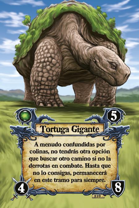 Tortuga Gigante A menudo confundidas por colinas, no tendrás otra opción que buscar otro camino si no la derrotas en combate. Hasta que no lo consigas, permanecerá en este tramo para siempre.