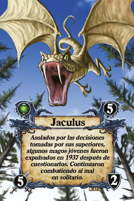 Jaculus Asolados por las decisiones tomadas por sus superiores, algunos magos jóvenes fueron expulsados en 1937 después de cuestionarlos. Continuaron combatiendo al mal en solitario.