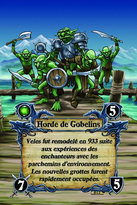 Horde de Gobelins Veles fut remodelé en 933 suite aux expériences des enchanteurs avec les parchemins d'environnement. Les nouvelles grottes furent rapidement occupées.