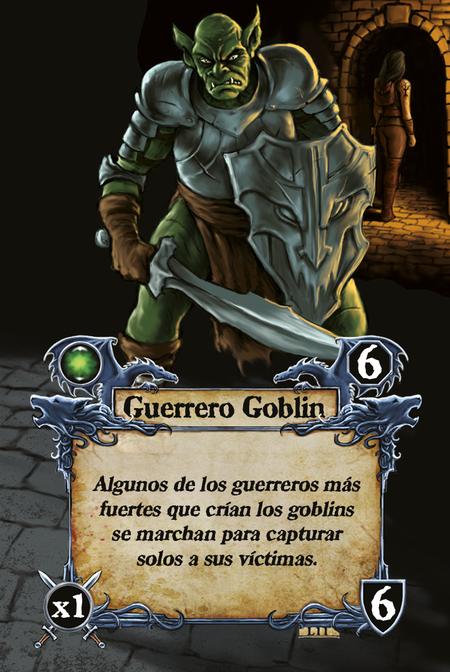 Guerrero Goblin Algunos de los guerreros más fuertes que crían los goblins se marchan para capturar solos a sus víctimas.