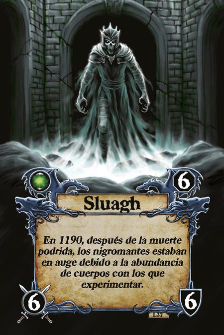 Sluagh En 1190, después de la muerte podrida, los nigromantes estaban en auge debido a la abundancia de cuerpos con los que experimentar.