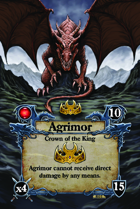 Agrimor  Crown of the King  Agrimor cannot receive direct damage by any means.