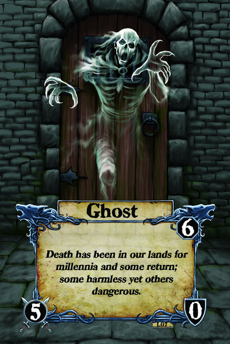 Ghost Death has been in our lands for millennia and some return; some harmless yet others dangerous.