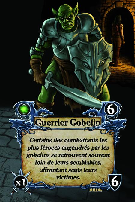 Guerrier Gobelin Certains des combattants les plus féroces engendrés par les gobelins se retrouvent souvent loin de leurs semblables, affrontant seuls leurs victimes.