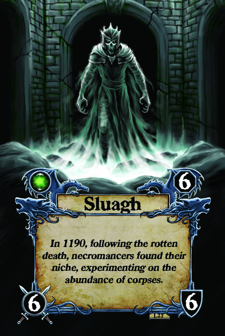 Sluagh In 1190, following the rotten death, necromancers found their niche, experimenting on the abundance of corpses.
