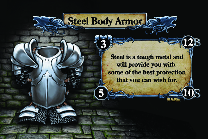 Steel Body Armor Steel is a tough metal and will provide you with some of the best protection that you can wish for.