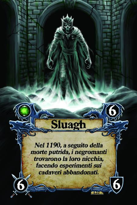 Sluagh Nel 1190, a seguito della morte putrida, i negromanti trovarono la loro nicchia, facendo esperimenti sui cadaveri abbandonati.