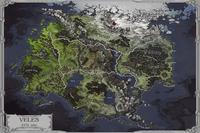 Map of Veles